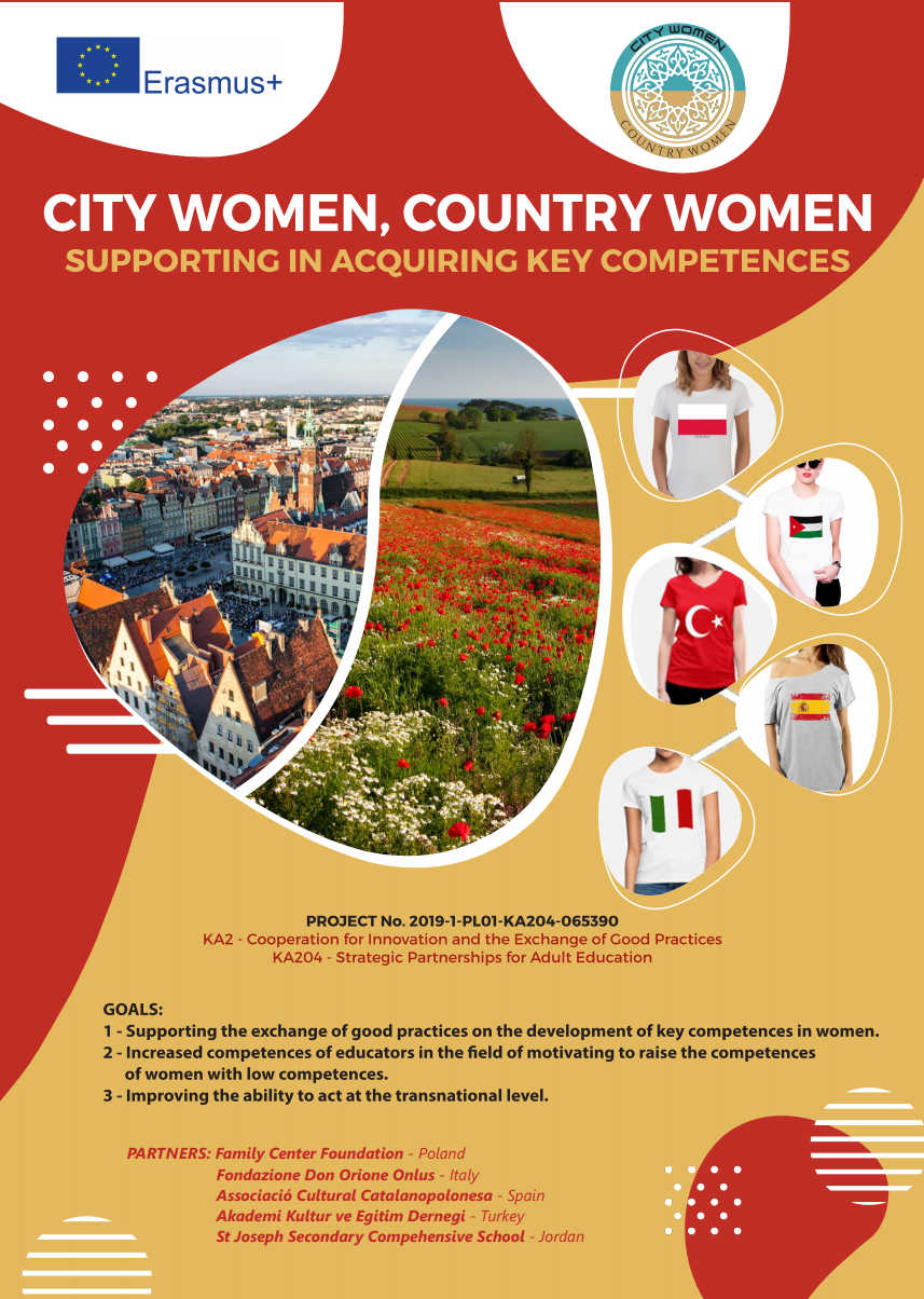 City Women, country Woman